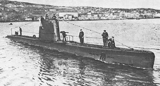 Подводная лодка М-96
