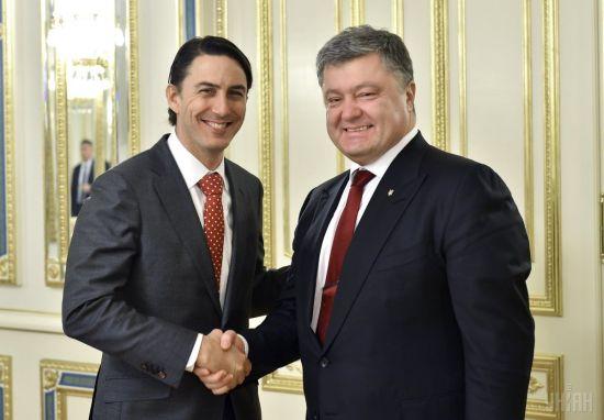 А. Хохштайн и П. Порошенко