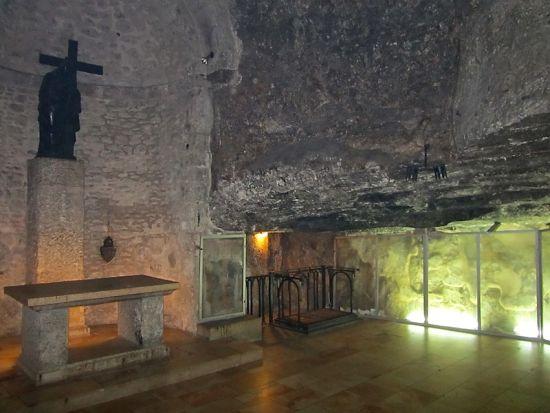 Иерусалим. Подземный храм святой равноапостольной царицы Елены