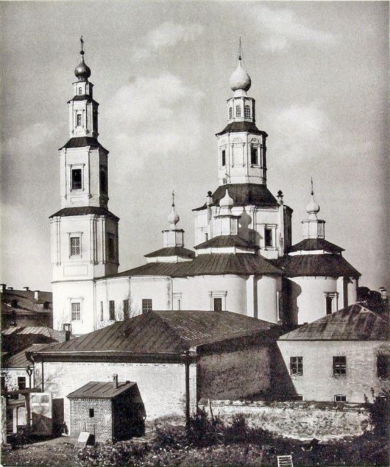 Таким был Крестовоздвиженский храм