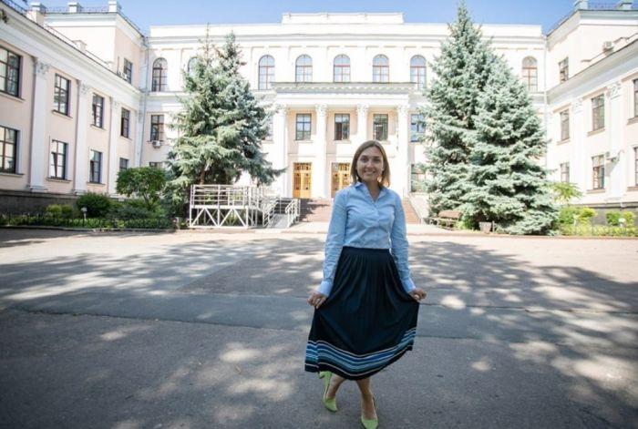 Выпускница Могилянки – «министерка» Новосад – сама пишет с ошибками на украинском