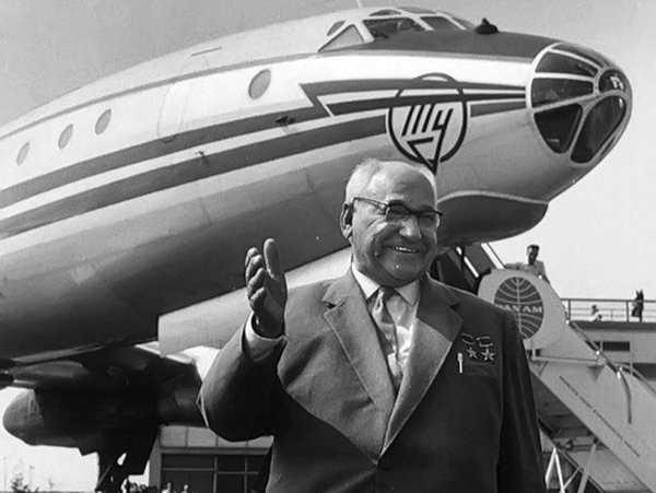 Андрей Николаевич Туполев, советский авиаконструктор