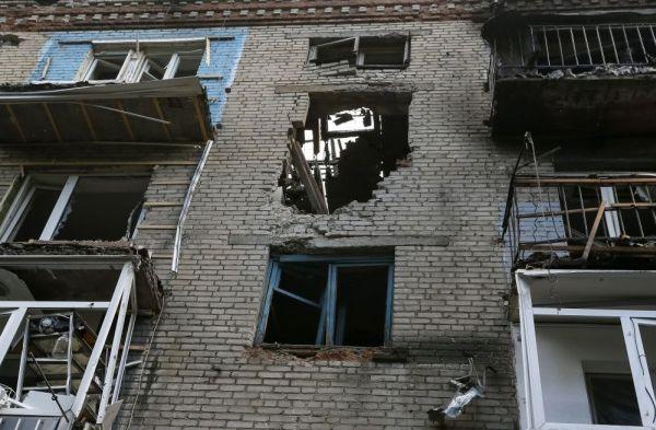 Обстрелы Славянска украинскими вооружёнными формирования
