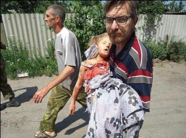 Полина Сладкая – шестилетняя девочка из Славянска, которую убил гаубичный снаряд ВСУ