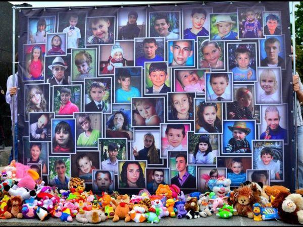 Убитые режимом Порошенко дети Донбасса