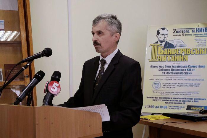 Лидер ОУН Богдан Червак у руля телерадиовещания Украины