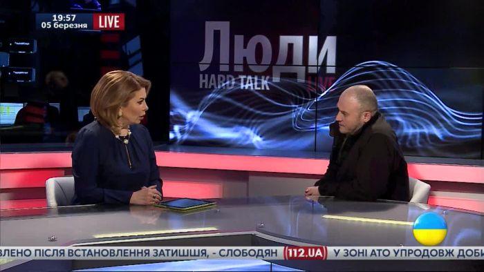 Военный преступник Дмытро Ярош в программе Натальи Влащенко