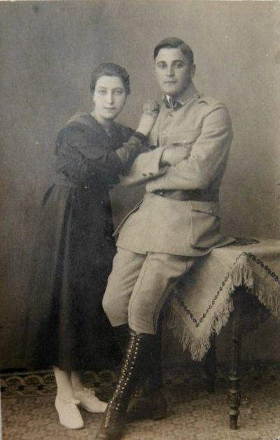 Дед и бабушка Ангелы Меркель по отцовской линии