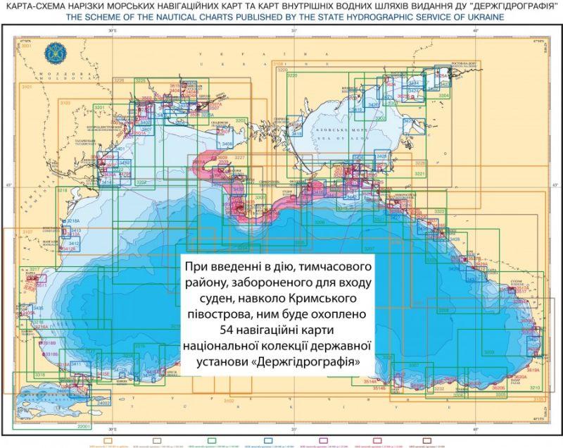 План Украины военно-морской блокады Крыма