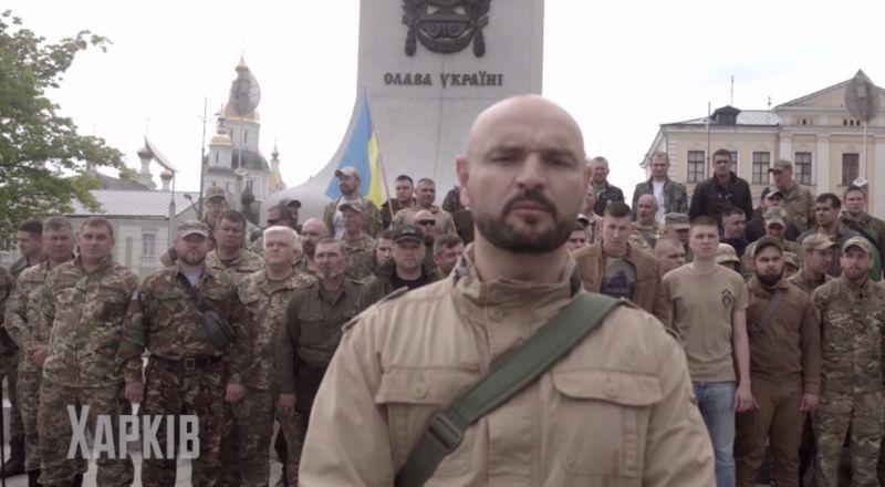 Протесты атошников против Зеленского
