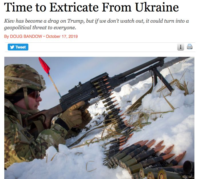 Time to Extricate From Ukraine