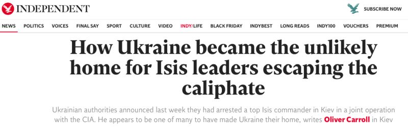 How Ukraine became the unlikely home for Isis leaders escaping the caliphate