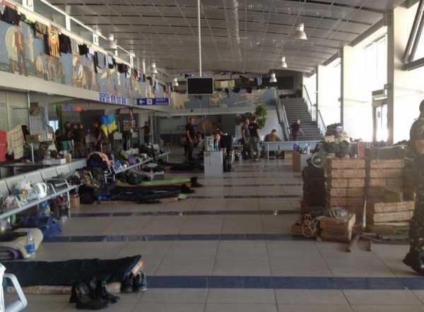 Аэропорт Мариуполь во время войны Киева с Донбассом
