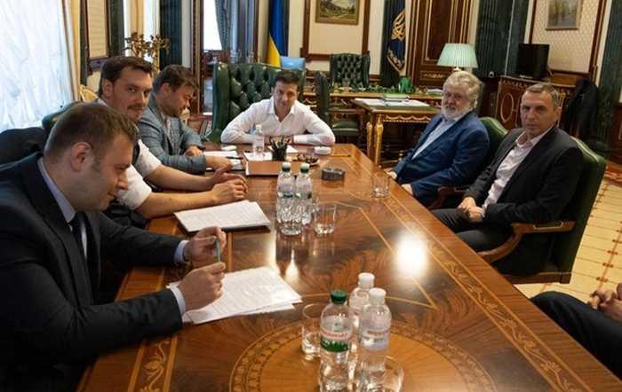 Коломойский в Офисе президента