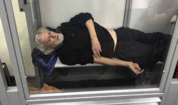 Режиссёр Олег Саган в украинском суде