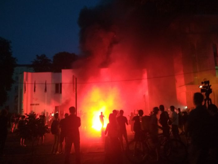 Протесты в Переяславле-Хмельницком
