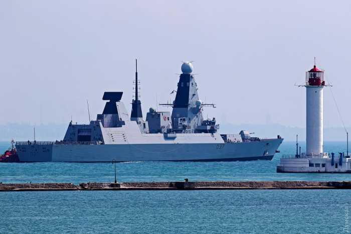 Британский эсминец D37 Dunkan