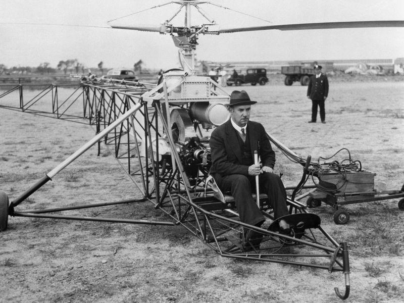 Сикорский создаёт вертолёт