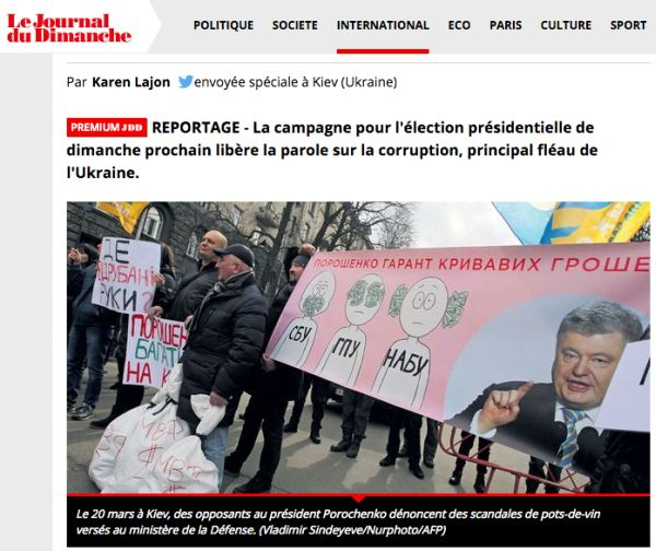 Journal du Dimanche: En Ukraine, rencontre avec les victimes de la corruption