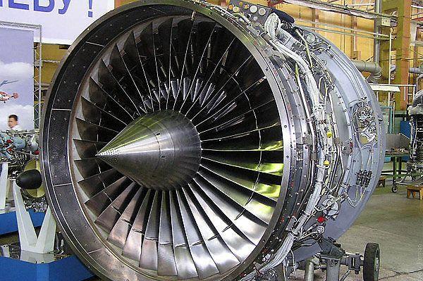 Os motores D-436 fabricados pela Motor Sich são usados em aeronaves civis An-148 e Be-200; desde fevereiro de 2018, eles são proibidos de serem entregues na Federação Russa (aex.ru)