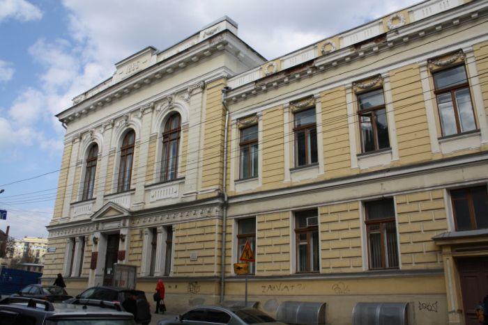 Республиканская научная библиотека им. Короленко в Харькове, в одноимённом переулке