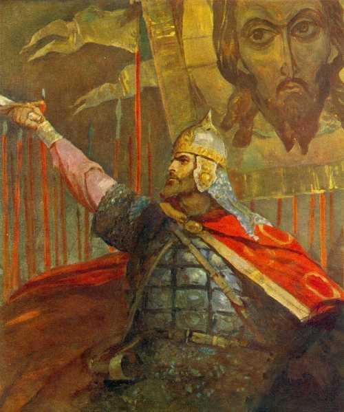 Князь Игорь. Иллюстрация к «Слову о полку Игореве» художника В.А. Серова