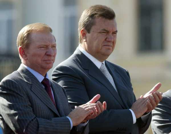 Леонид Кучма и Виктор Янукович