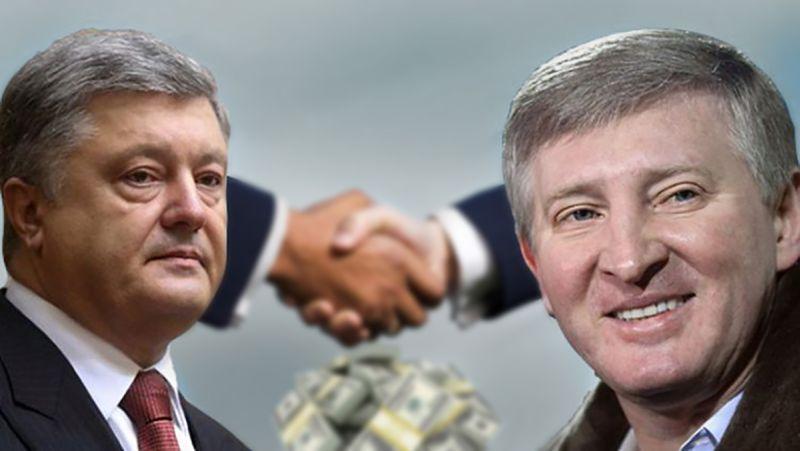Бизнес-империи П. Порошенко и Р. Ахметова стали зарабатывать баснословные прибыли