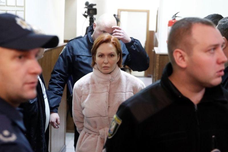Арест Юлии Кузьменко, подозреваемой следствием в убийстве Павла Шеремета