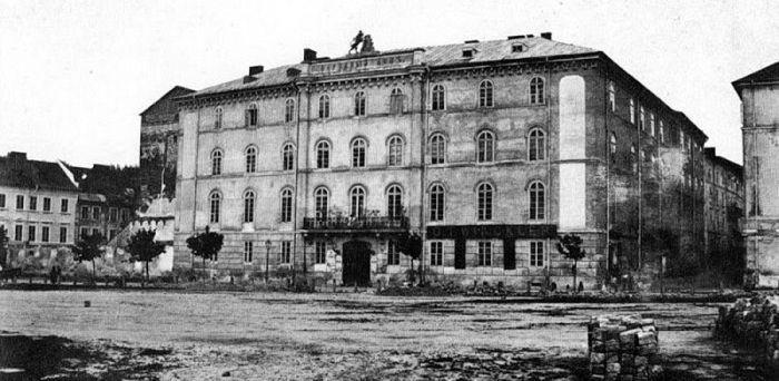 Русский народный дом во Львове. Конец XIX века.
