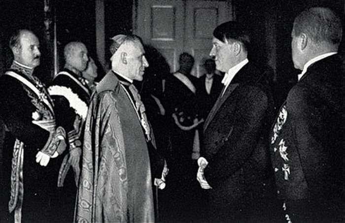 Встреча Гитлера и папы Пия XII.