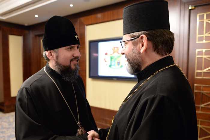 Святослав Шевчук и Епифаний имеют общие планы