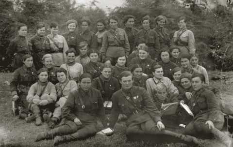 Лётный состав 46 полка