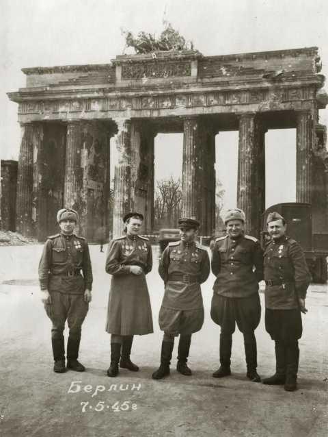 Лётчики в Берлине