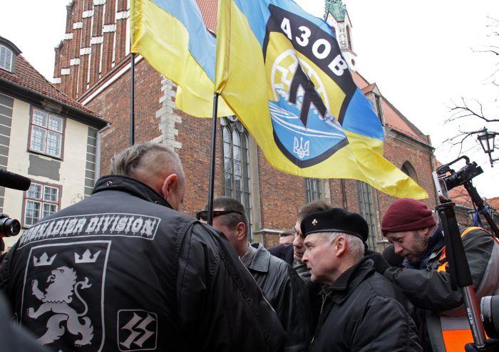 «Азов» и прибалтийские наци