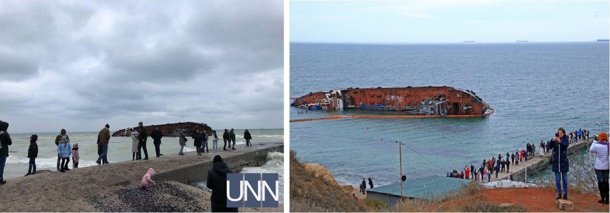 Одесситы и гости города спешат на пляж Дельфин посмотреть на Delfi