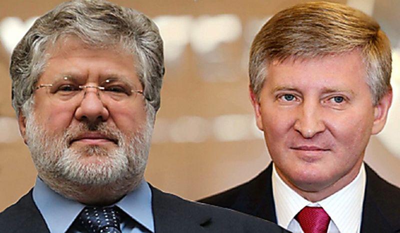 Резко обострилось противостояние олигархов Рината Ахметова и Игоря Коломойского