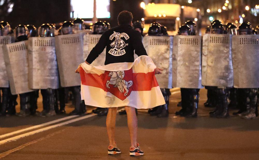 Протесты в Белоруссии