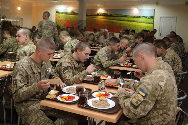 Столовые ВСУ уже вступили в НАТО
