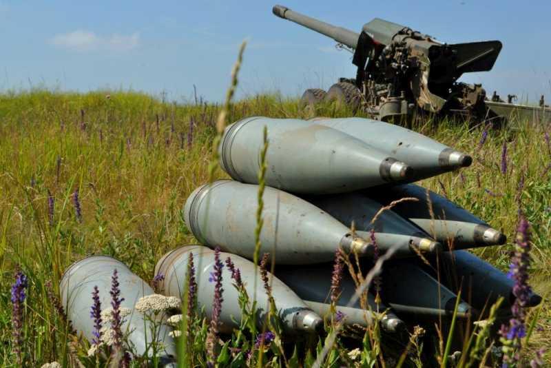 Те самые опасные украинские 152-мм снаряды