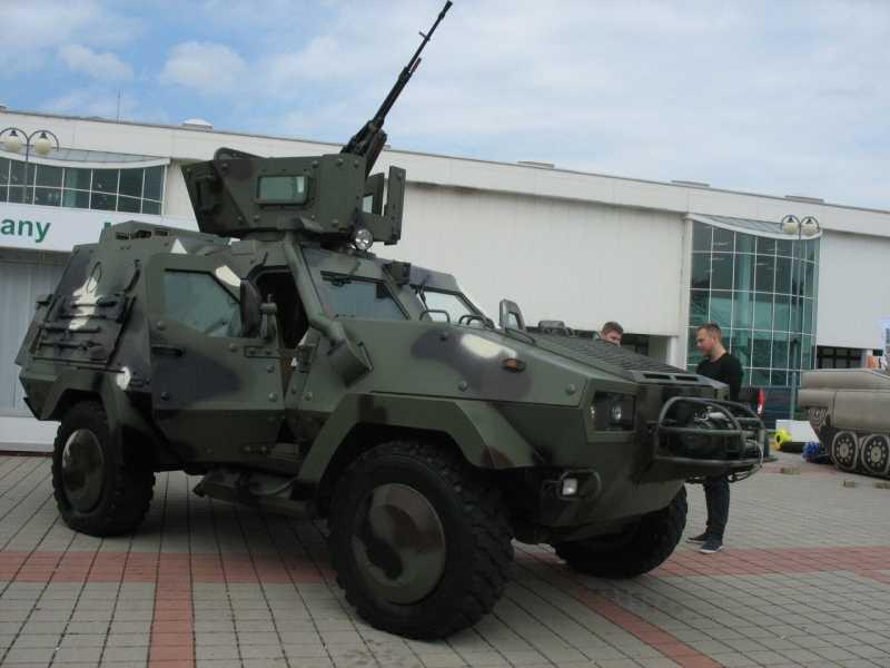 Доделанный поляками броневик «Дозор» теперь Oncilla