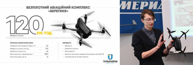 БЛА «Берегиня» и его разработчик Максим Шеремет