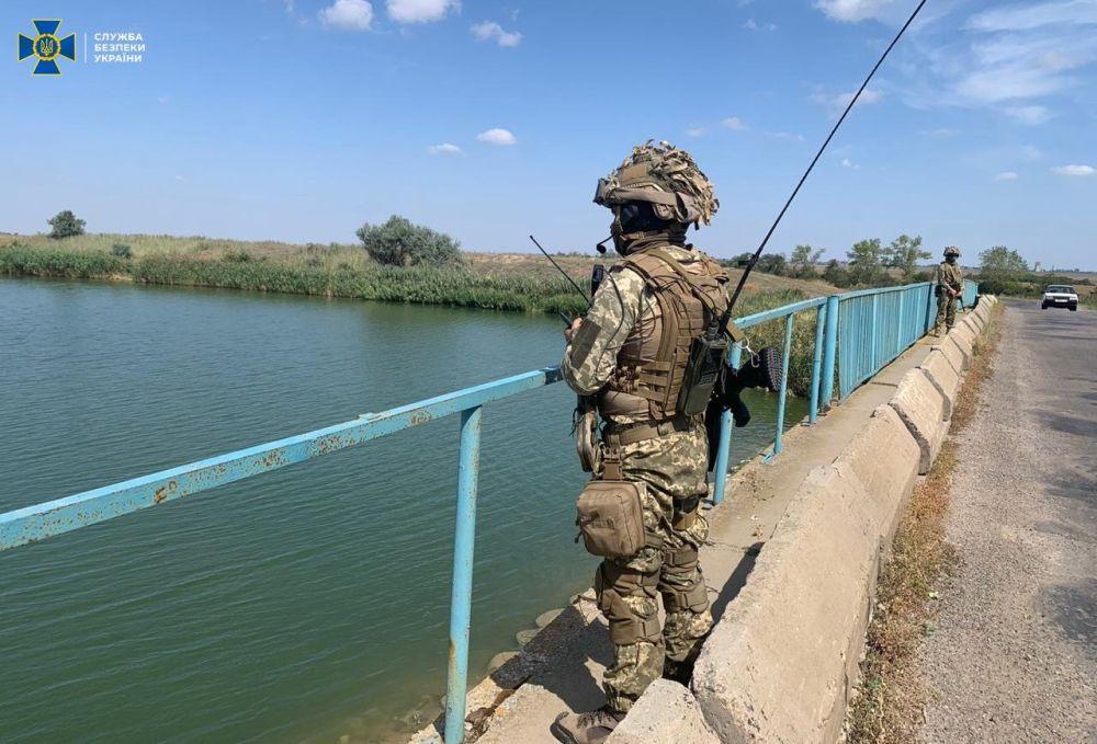 Учения на Северо-Крымском канале