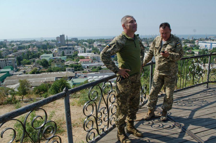 2016 год. Адмирал Воронченко строит планы на Бердянск