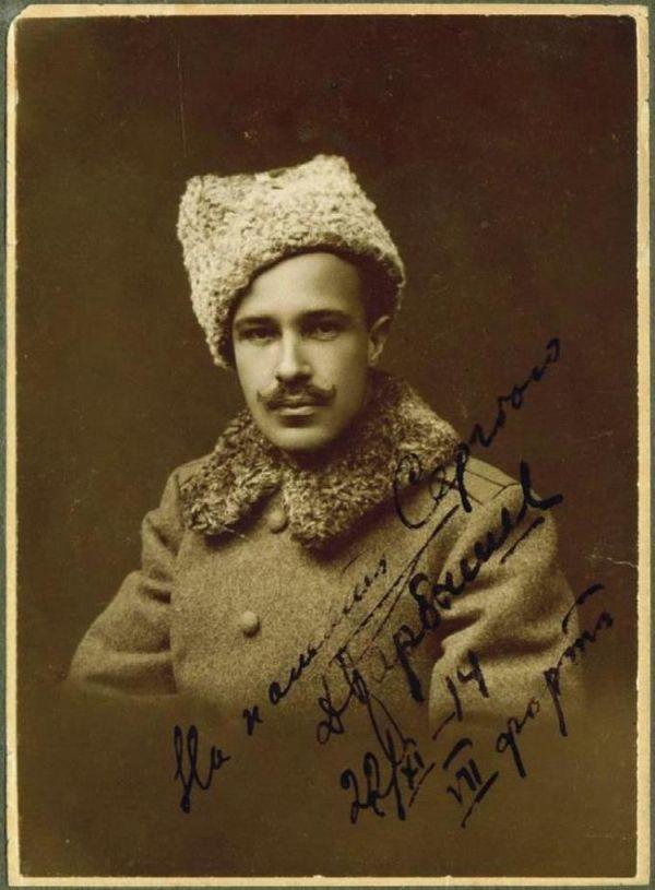 Дмитрий Карбышев в молодости