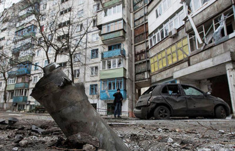Обстрел Мариуполя, 24 января 2015 года