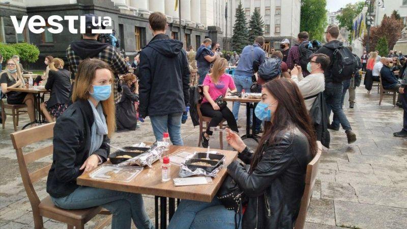 Креативный протест украинского общепита