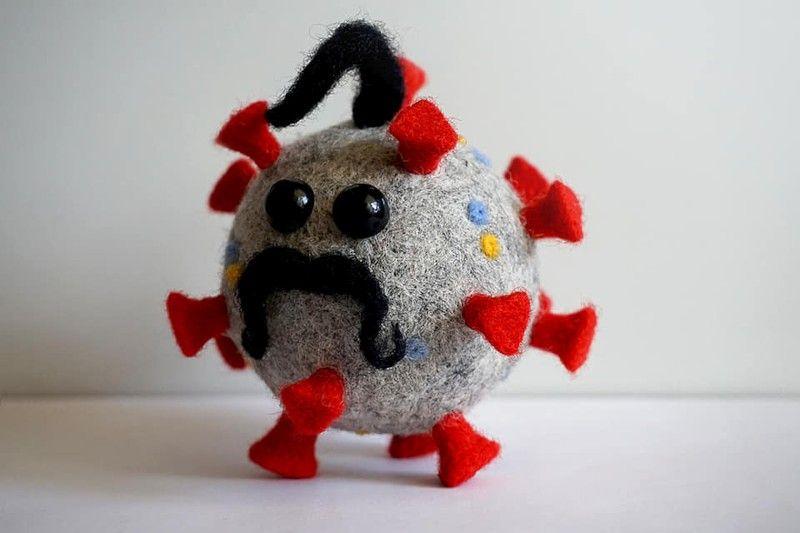 Игрушка-сувенир, выпуск которой наладили ушлые дельцы: коронавирус с украинским колоритом