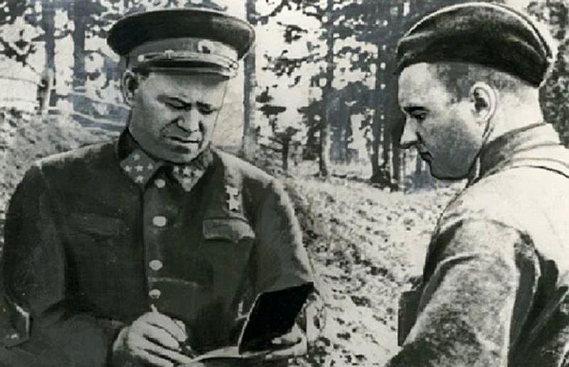 Генерал армии Г.К. Жуков на Ленинградском фронте, 1941 год