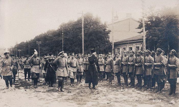 Опора режима Скоропадского – «серожупанники», которые в итоге предали своего гетмана.